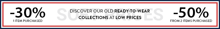 discover our old ready-to-wear collections at low prices
